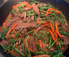 Flank Steak Stir Fry