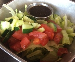House Salad & Spicy Balsamic Dressing