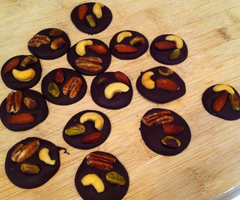 Dark Chocolate Trail Mix Bites