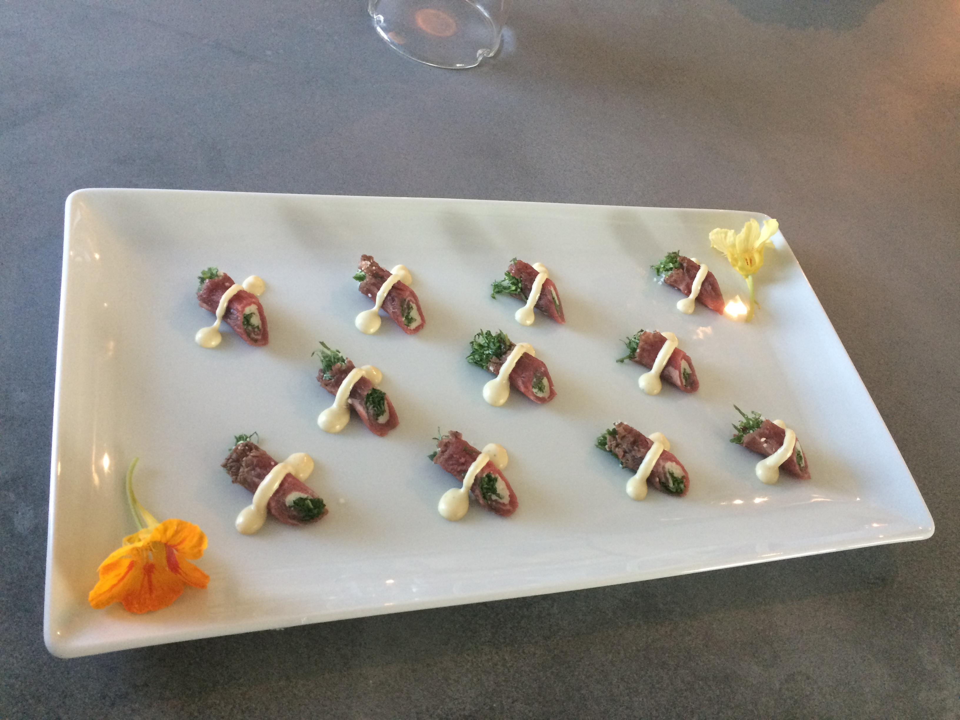 Beef Tenderloin Carpaccio Photo
