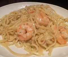 Scampi and Linguine