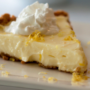 Sour Cream Lemon Or Lime Pie