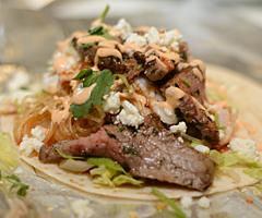 Korean Beef Taco